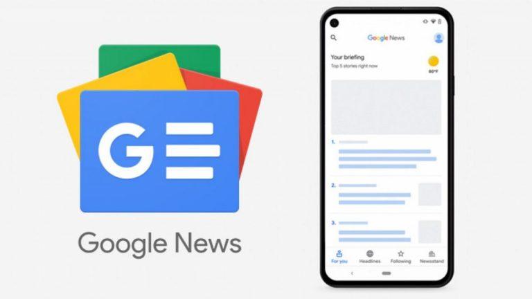 Cómo funciona Google News Showcase
