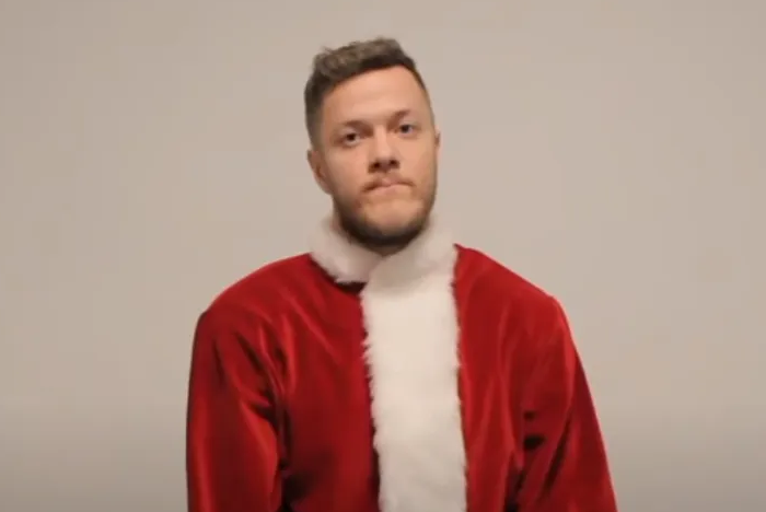 imagine dragons white christmas