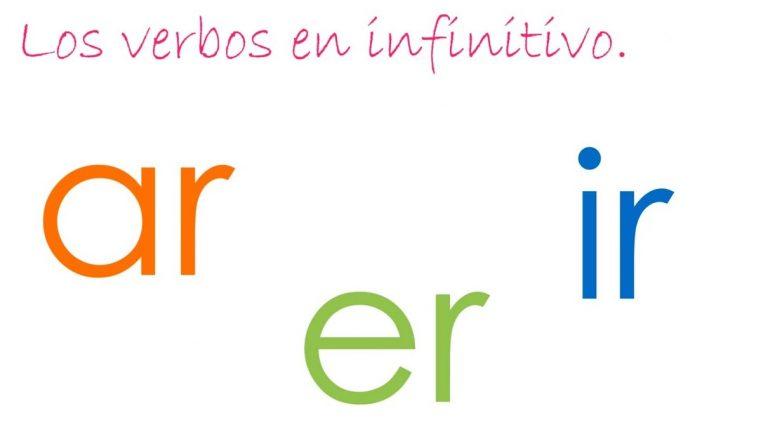 Qué es un infinitivo