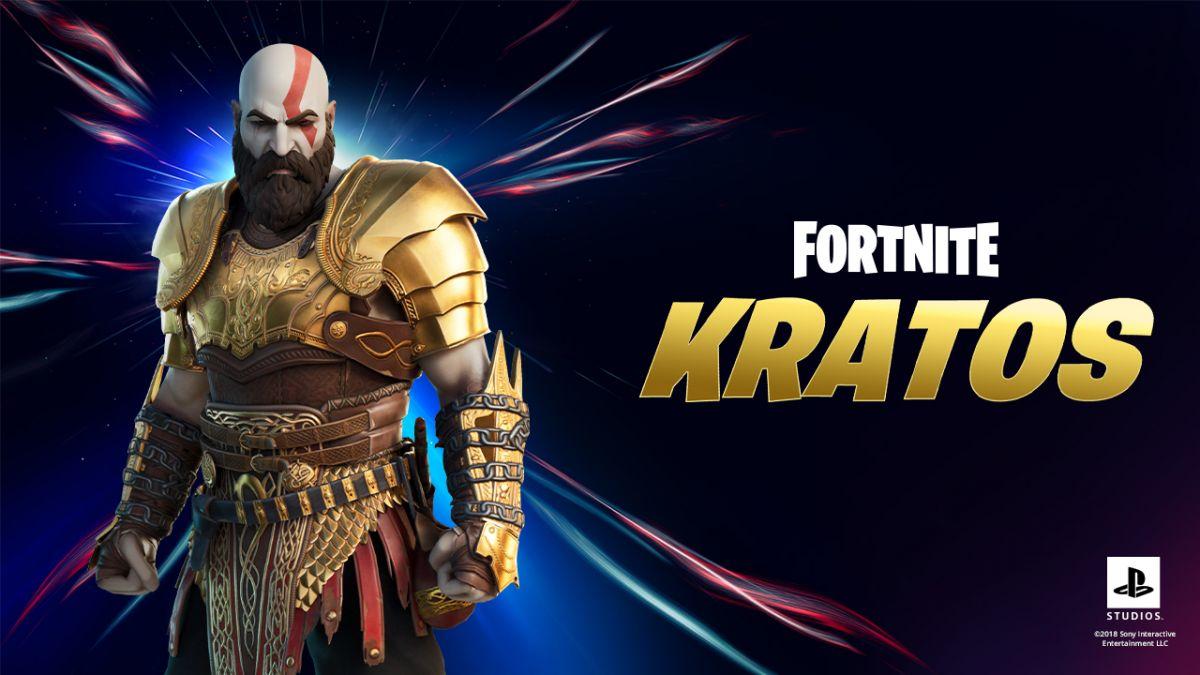 Fortnite: así puedes conseguir a Kratos con la armadura dorada