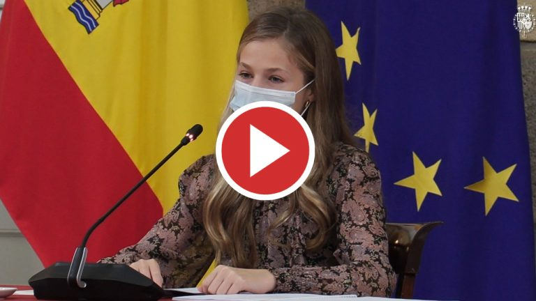 Leonor agradece la labor de los patronos de la Fundación Princesa de Girona
