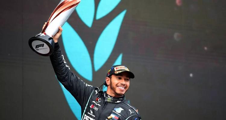 Lewis Hamilton, Carlos Sainiz, f1 2020