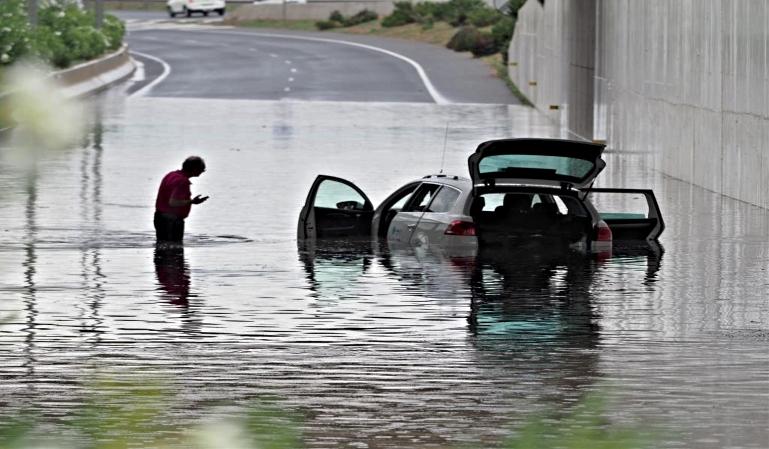 Cómo actuar ante una riada por lluvia torrencial