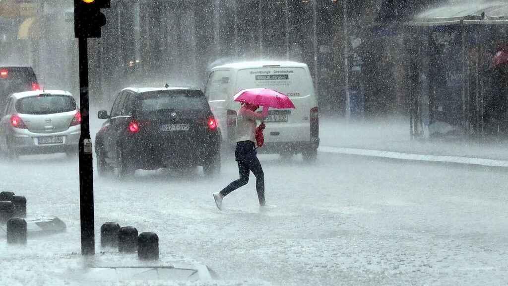 Medidas preventivas ante una lluvia torrencial