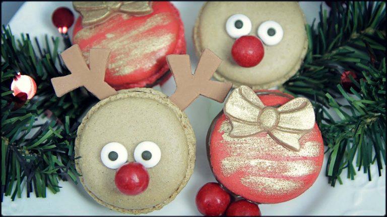 No es Navidad sin unos macarons navideños. ¡Aprende a hacerlos!