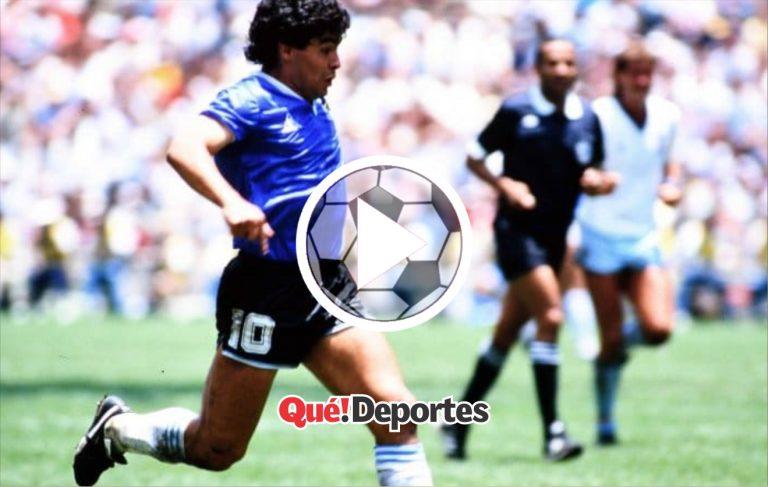 Le entró el alma de Maradona al cuerpo ¡Golazo!