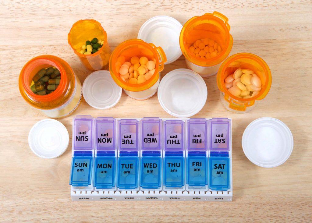 Formas de organizar los medicamentos