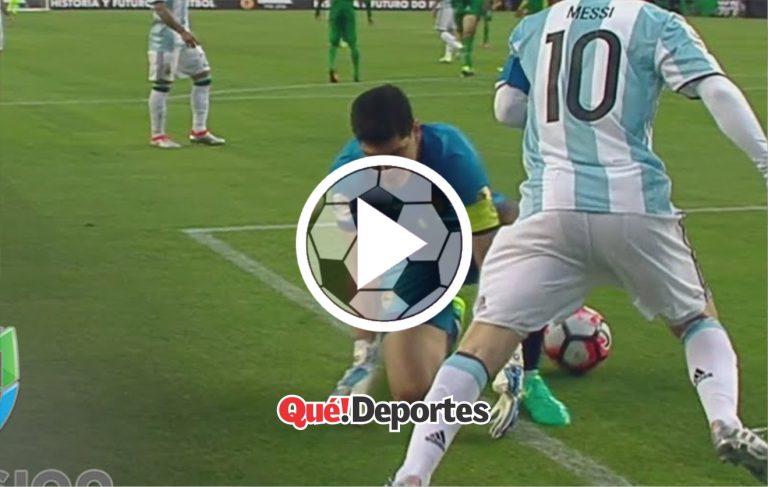 Solo Messi puede puede hacer una cosa así
