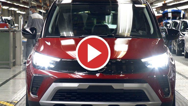 Así es la producción del nuevo Opel Crossland en Zaragoza