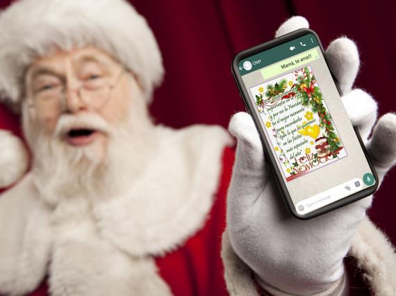 Frases originales y divertidas para felicitar la Nochebuena y Navidad