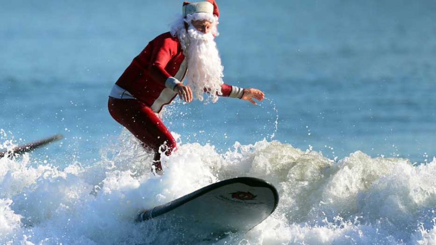 Si te gustan las tradiciones navideñas, pero en verano, Australia es tu sitio.