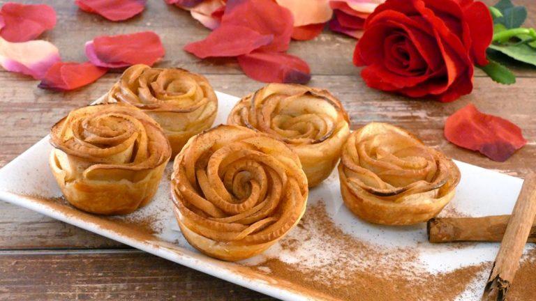 Cómo hacer unas rosas de patatas al horno