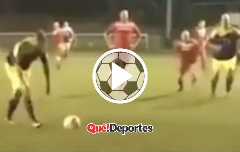 ¡Qué truco tan bestial para patear un penalti!