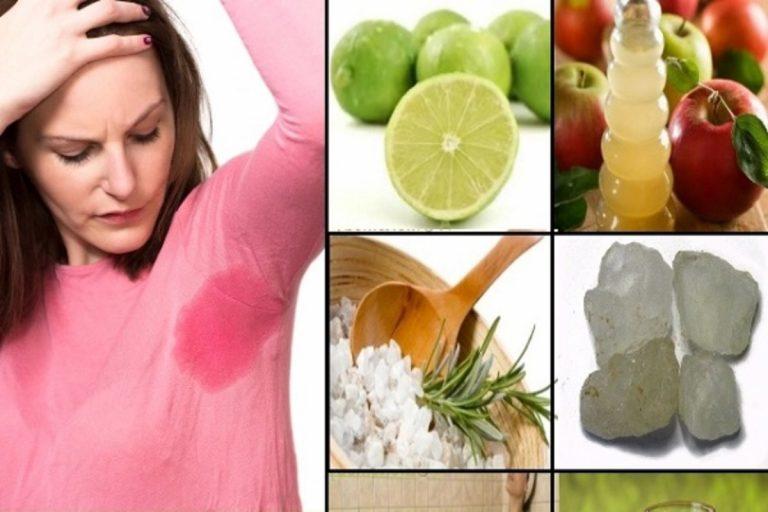 Cómo eliminar el sudor: remedios caseros que funcionan