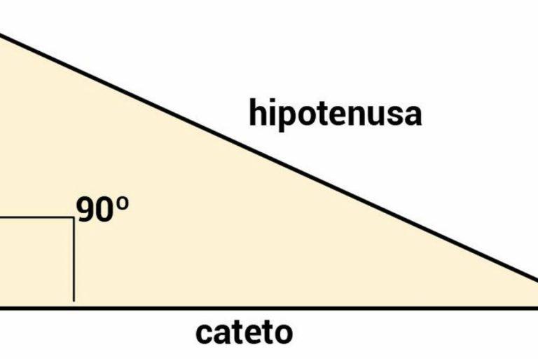 Qué es la hipotenusa