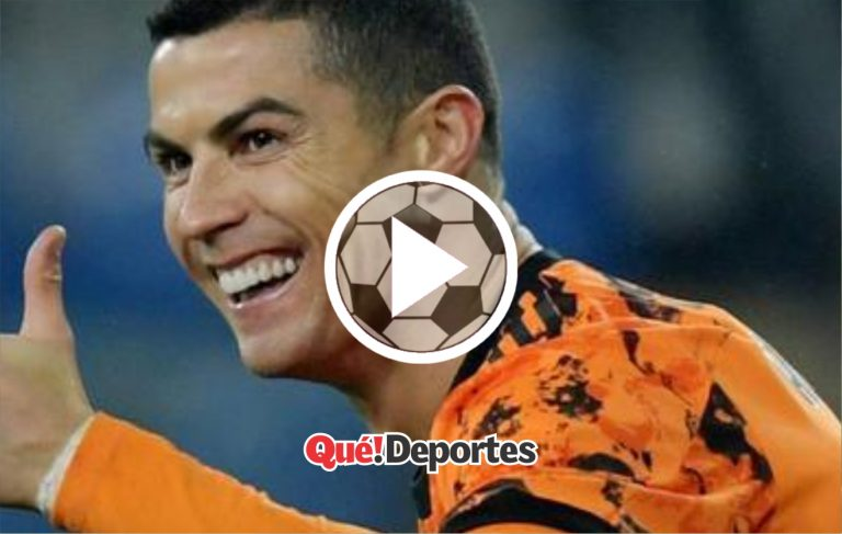 """Cristiano Ronaldo y su """"bendición"""" al balón ¡Qué control!"""