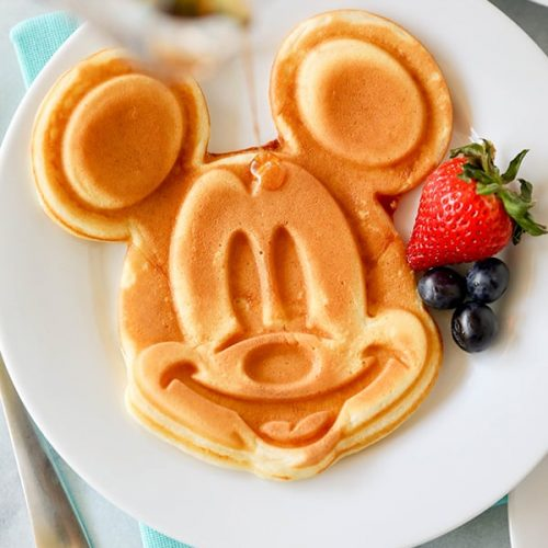 Ricas y originales tortitas de Mickey Mouse