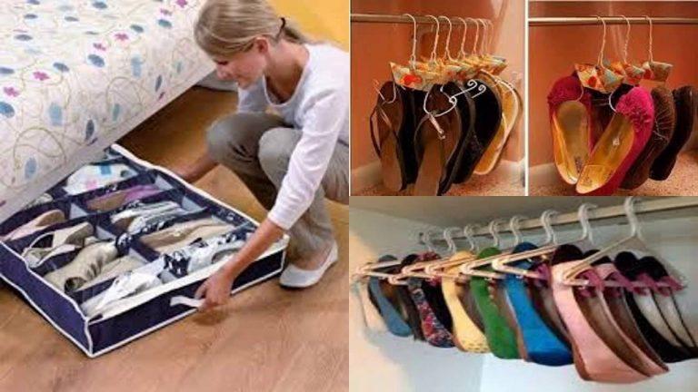 El truco para ordenar tus zapatos y que ocupen la mitad del espacio que tienen ahora