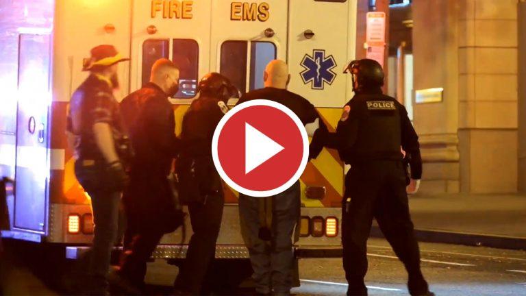 Diez heridos en disturbios entre partidarios y detractores de Trump