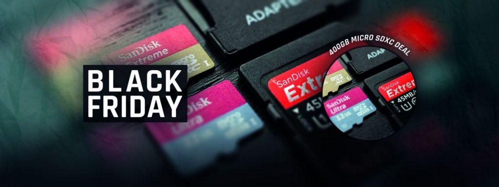 venta tarjetas microsd black friday