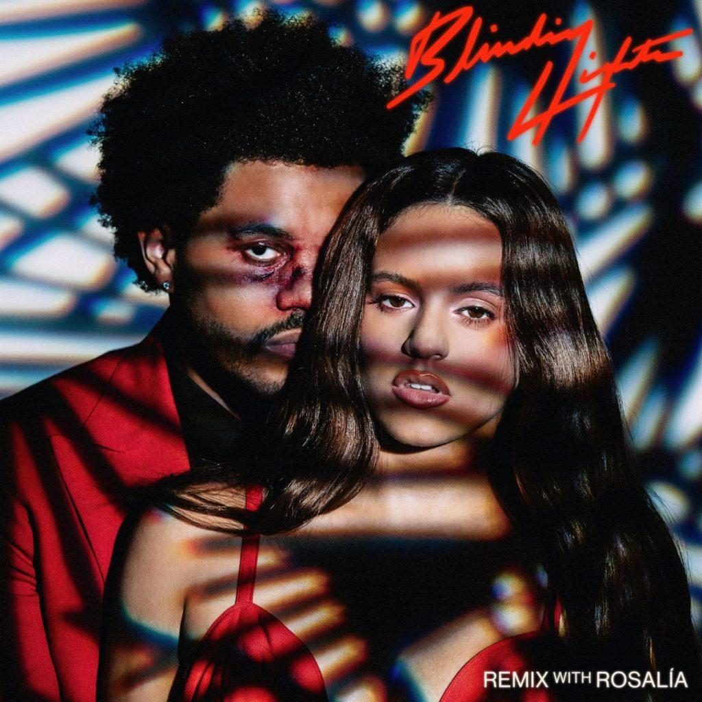 The Weeknd  Rosalía Blinding Lights remix