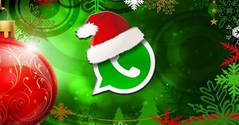 Triunfa en WhatsApp con estas aplicaciones de Christmas navideños