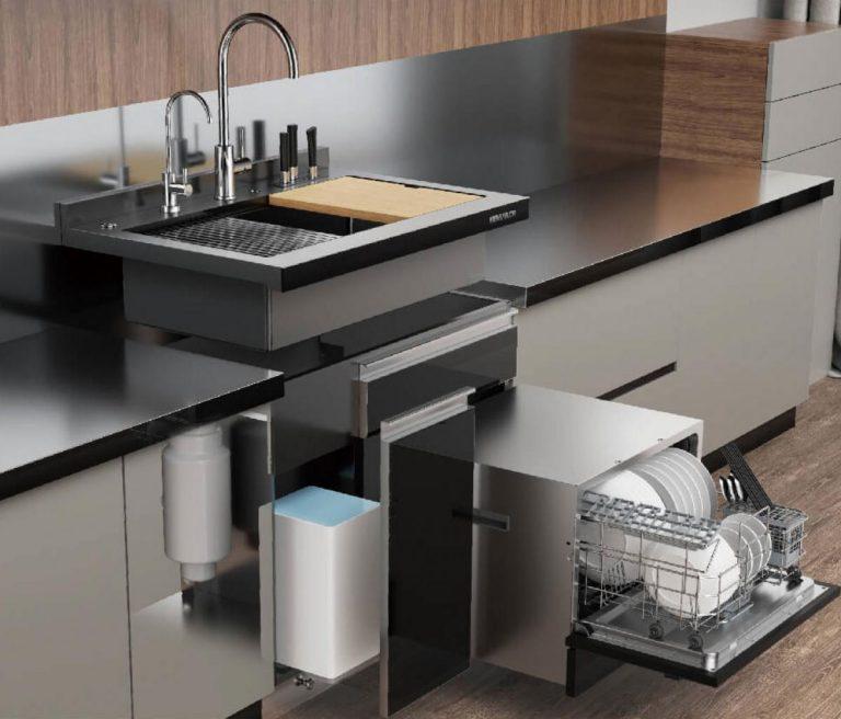 Xiaomi: Así es el fregadero 'todo en uno' que revolucionará las cocinas