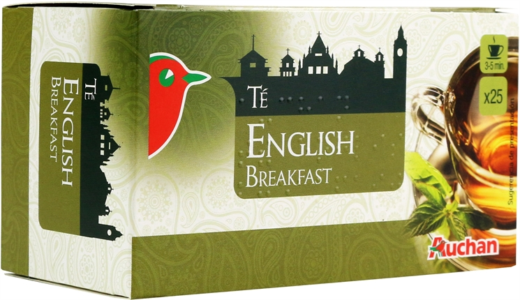 AUCHAN (ALCAMPO) TÉ ENGLISH BREAKFAST