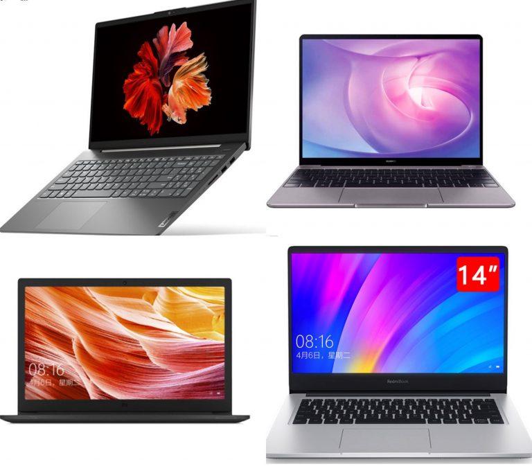 Aliexpress: 10 ofertas increíbles de hoy en portátiles de Xiaomi, Huawei y Lenovo