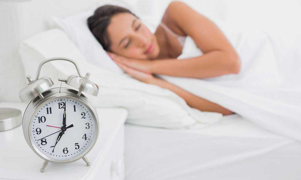 Cambiar gradualmente la hora de dormir