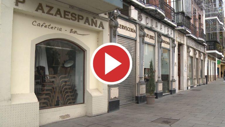 Bares, restaurantes y tiendas cerradas en Badajoz para frenar contagios