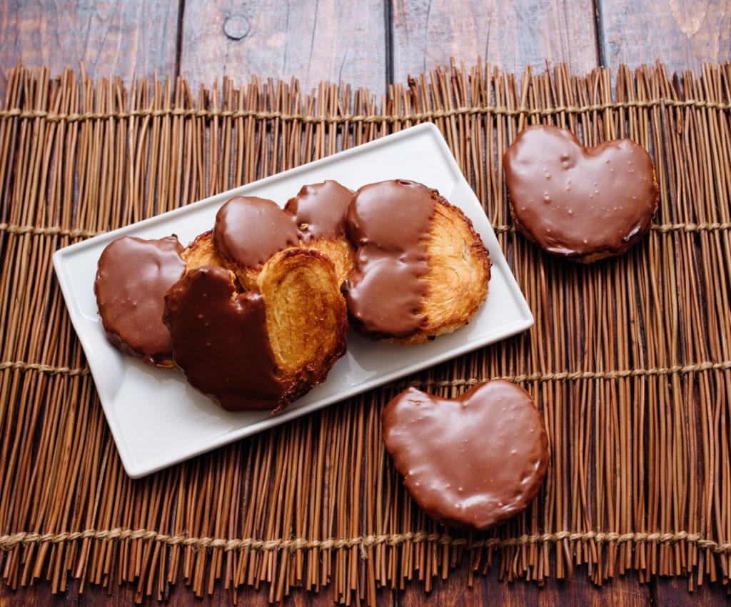 Cómo hacer en casa una palmera de chocolate saludable