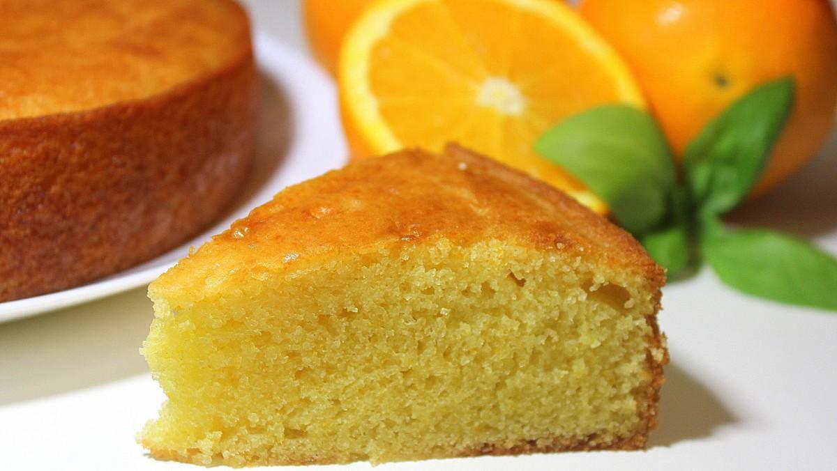 Cómo hacer un bizcocho de naranja esponjoso