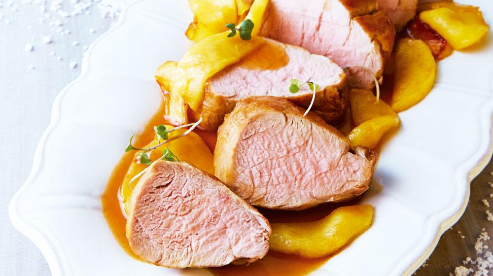Salsa de manzana para la carne de cerdo