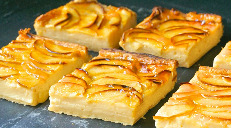 Cómo hacer una tarta de manzana con hojaldre