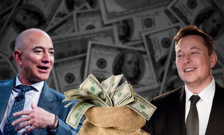 Elon Musk se 'cepilla' a Jeff Bezos: así queda el top 8 de los más ricos del mundo
