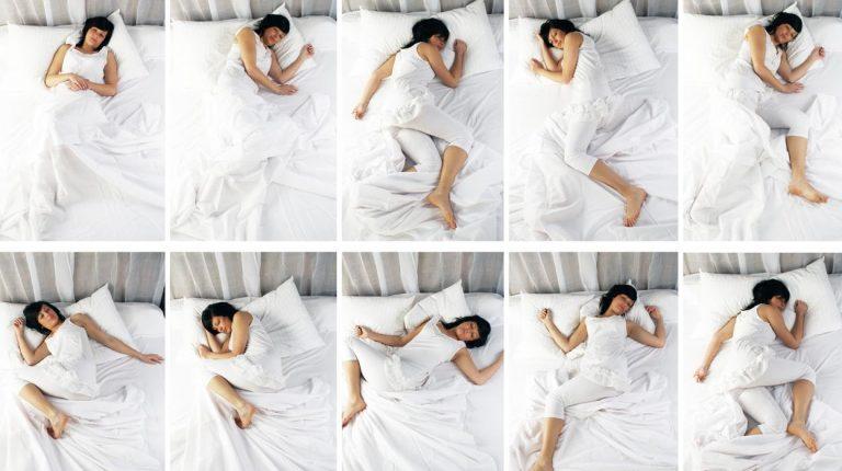 Esta es la peor postura para dormir