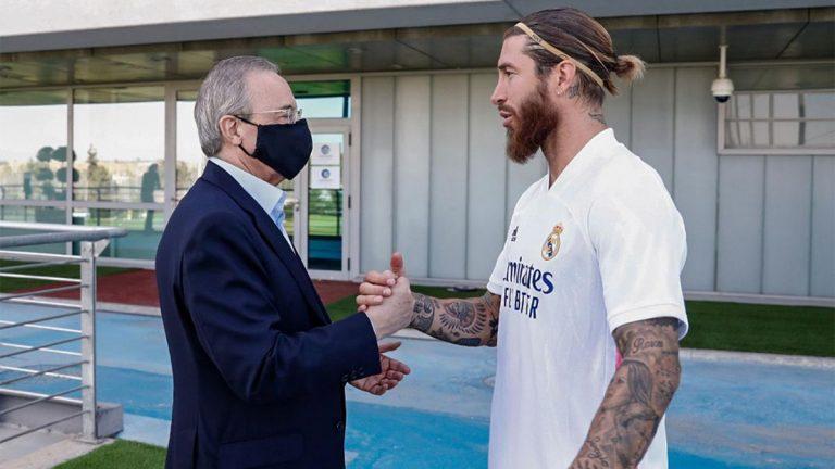 ¿Habrá renovación? El acercamiento de Florentino Pérez y Sergio Ramos que podría acabar bien