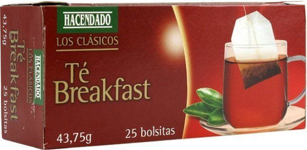 HACENDADO (MERCADONA) TÉ BREAKFAST