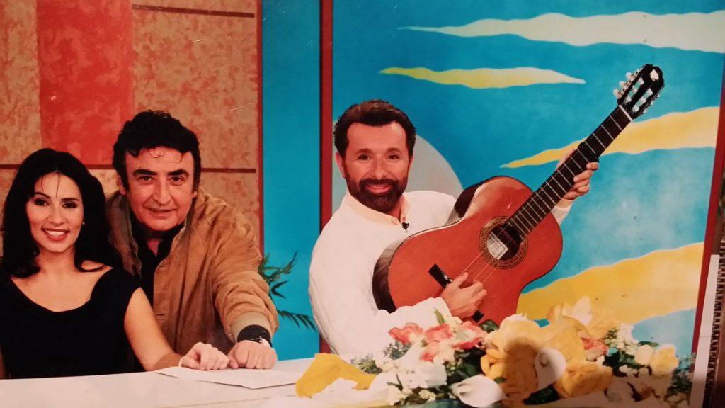José Manuel Parada, presentador de Cine de Barrio