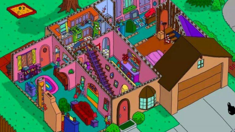 La habitación «oculta» de Los Simpson que te ha pasado desapercibida