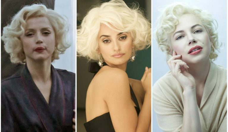 """Los otros """"rostros"""" de Marilyn Monroe antes de que Ana de Armas la interpretará"""