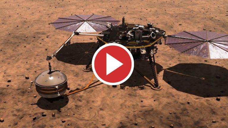 Finaliza la misión de la sonda de calor interno de Marte
