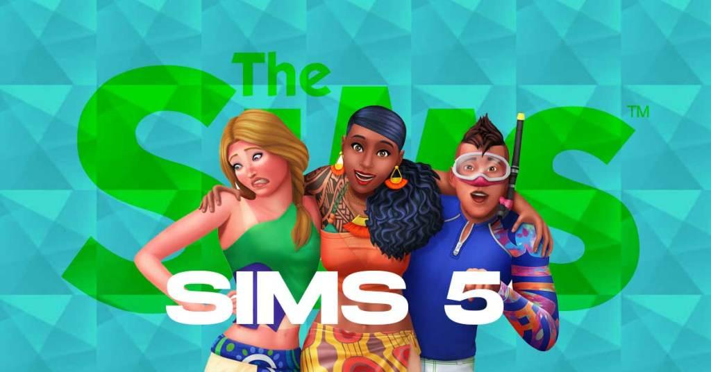 Mejores gráficos en Los Sims 5