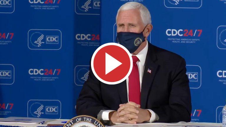 """Pence insta a Biden a mantener una """"vigilancia eterna"""" sobre China"""