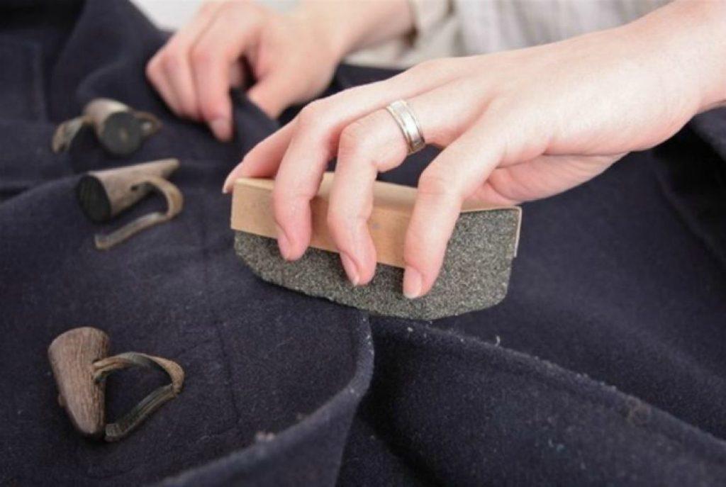 Pretratado del abrigo de lana