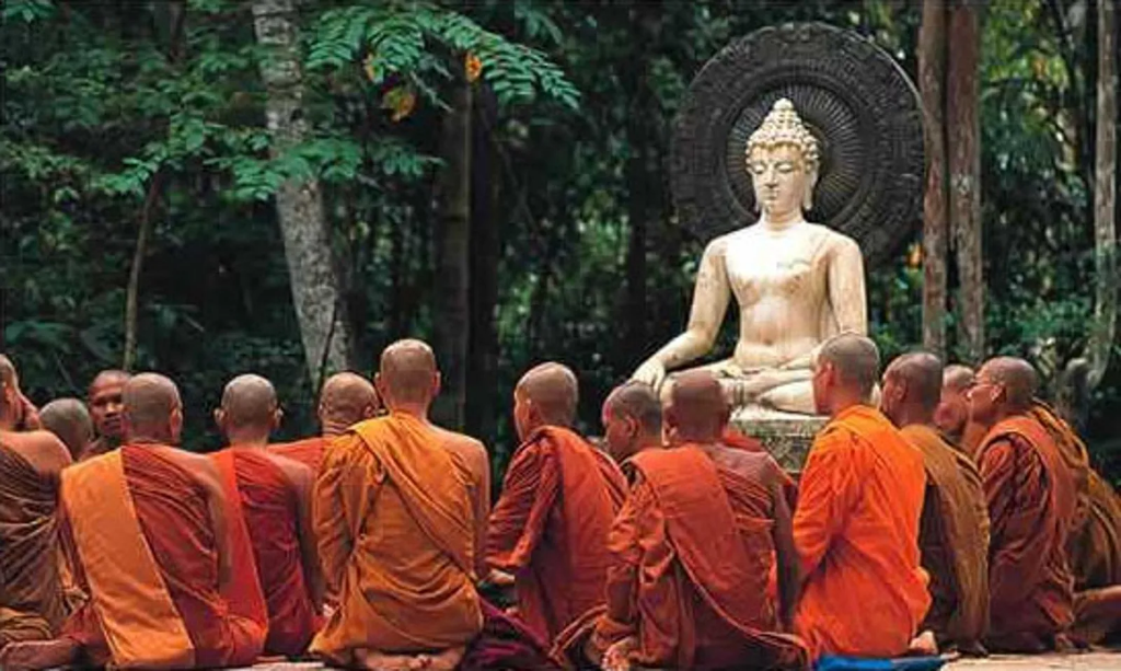 Convertirse en Buda: las cuatro visiones y la gran renuncia