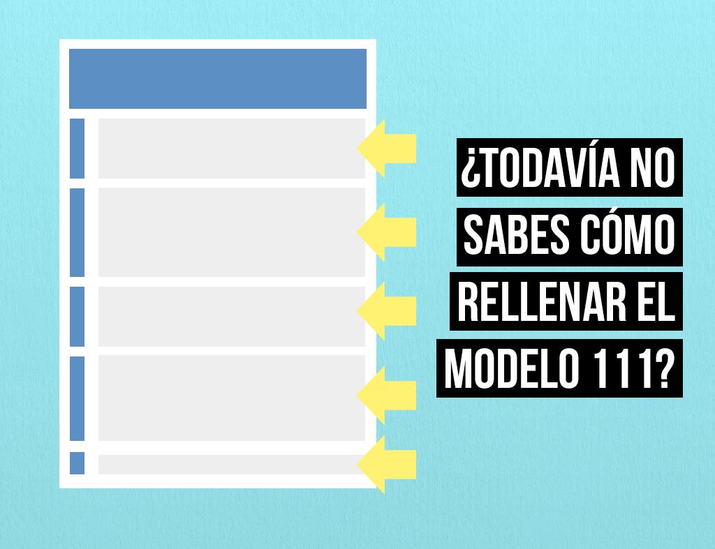 ¿En qué momento los autónomos deben proceder a presentar el modelo 111?