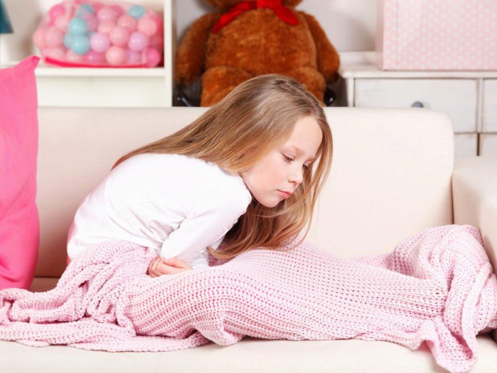 Aparicion de los vómitos acetonémicos en niños