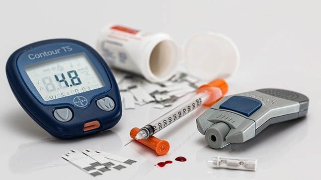 En pacientes diabéticos